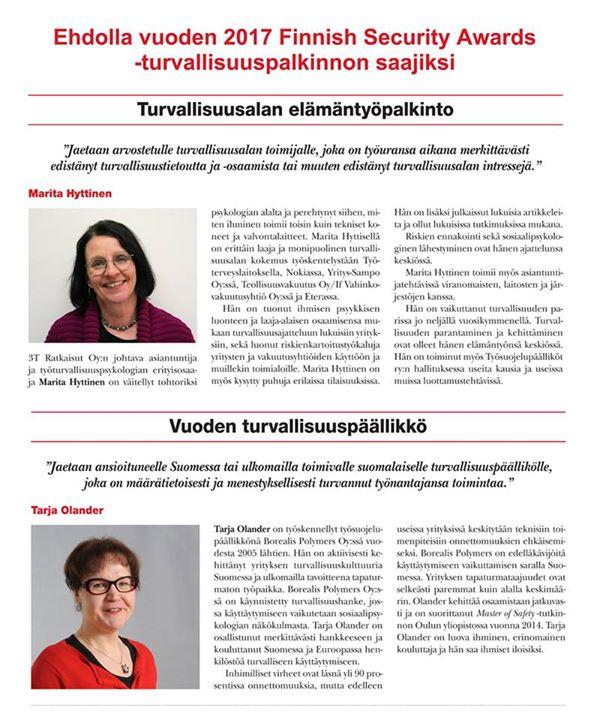 Suomalaiset huippuosaajat ovat...