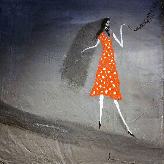 @embaoulu: Antti Ruuhelan FF 2005, #nykytaidetta kauppakorkeakoulun dekaanin huoneen seinällä. Ruuhela liikkuu maalauksissaan syvällä elämän ja kuoleman välimaastossa mutta Femme Fatale -teoksen oikeasta yläkulmasta voisi tulkita talouden olevan hyvässä nousussa. #EMBAOULU #johtamiskoulutus