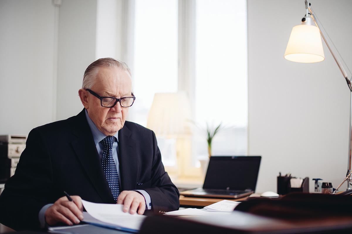 Martti Ahtisaari Instituutin Huippufoorumi