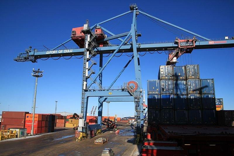 Digitalisaatio yltää satamiin
