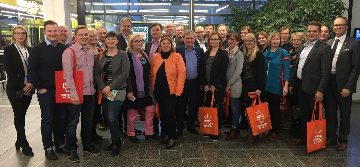 City of Oulu Top Management visits MA Institute and Oulu Business School
