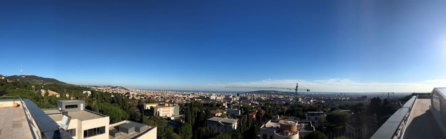 Escaping the winter for a research exchange at the IESE Business School, Barcelona